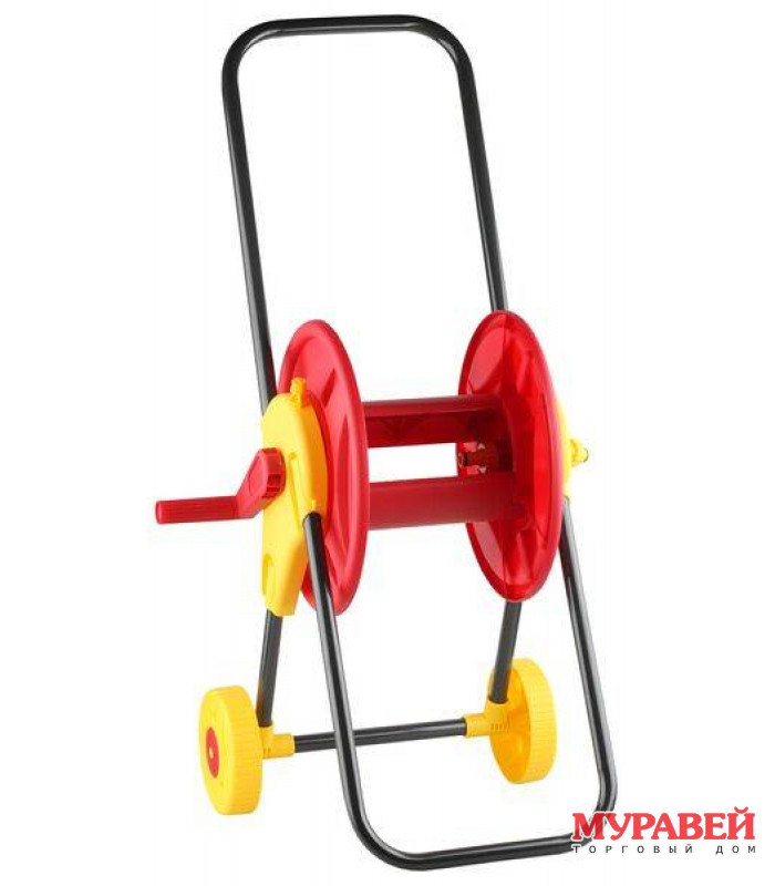 Катушка GRINDA для шланга 45 м ½″ на колесах