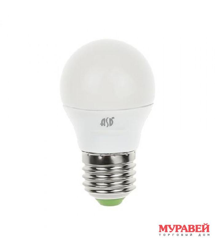 Лампа ASD LED-A60-standart 15Вт 160−260 В Е27 3000К