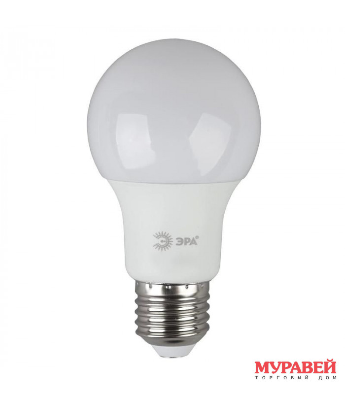 Лампа ЭРА LED A60-17w-860-E27