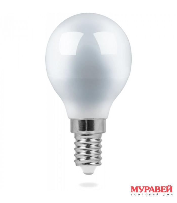Лампа FERON LED LB-750 11W 230V Е14 4000K G45