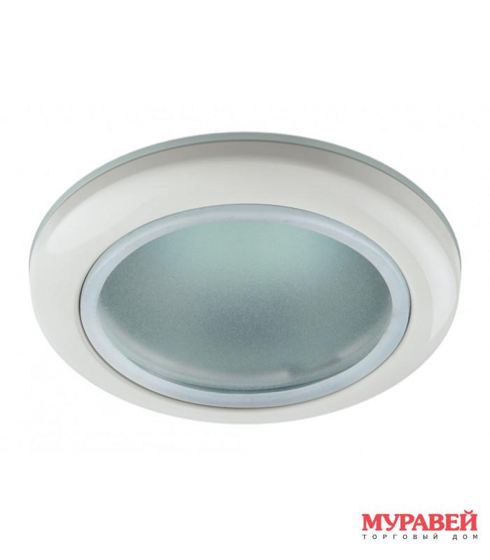 Светильник точечный ЭРА WR1 WH влагозащищенный белый