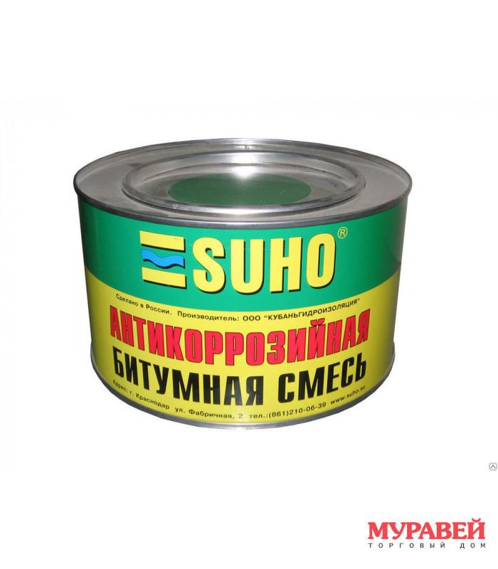 Антикорозийная битумная смесь SUHO 1,2 л