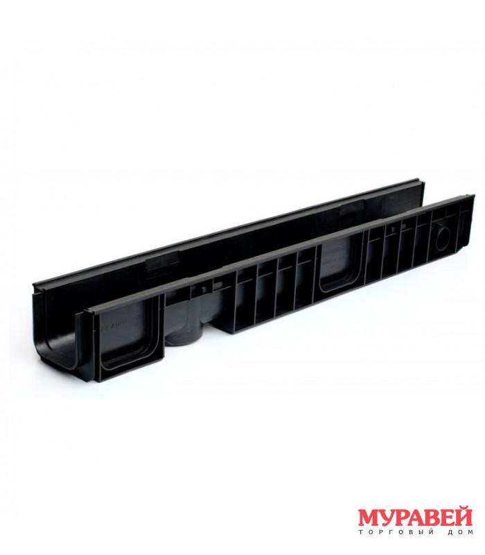 Лоток водоотводный ЛВ-10 14,5 100 мм пластиковый