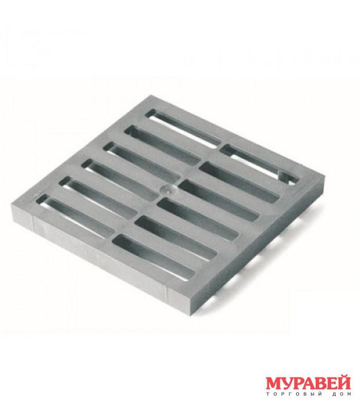 Решетка пластик. водоприемная 285×285 к дождепр.
