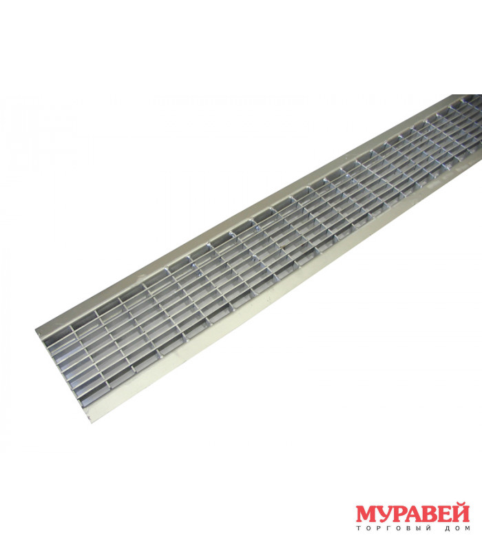 Решетка водоприемная ячеистая стальная оцинк.100