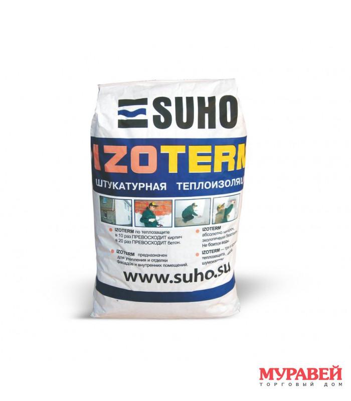 Штукатурная теплоизоляция «Izoterm» 10 кг
