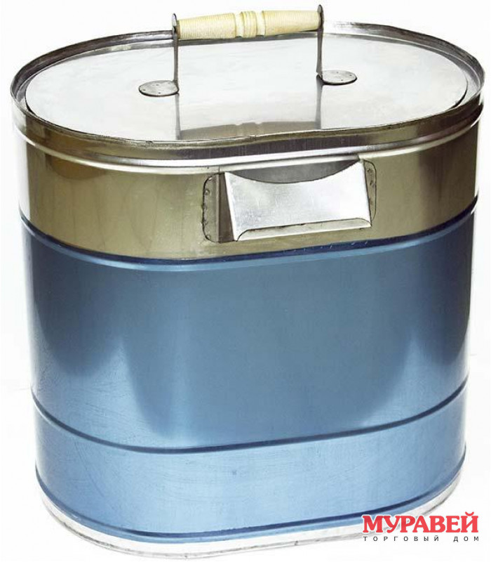 Бак для воды 43 л х 0,8 мм нержавейка