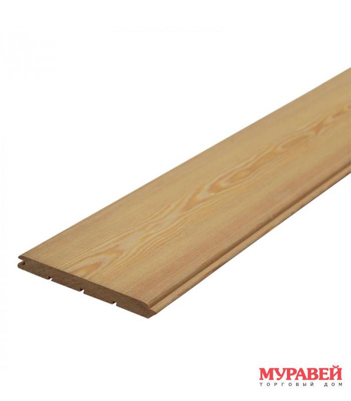 Вагонка лиственница «штиль» 14х90х3000 сорт А