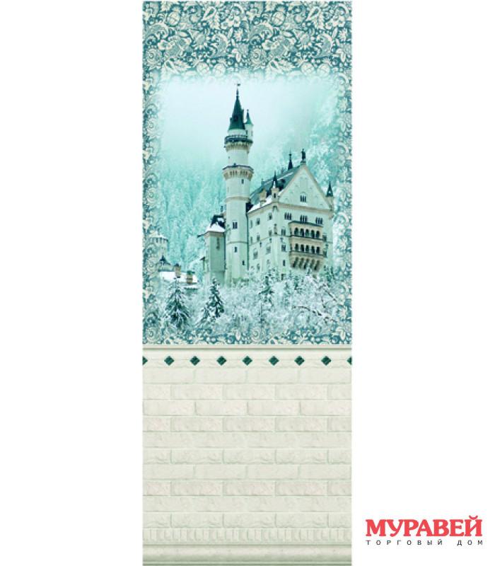 Дизайн-панели «замок» панно 250х2700 мм
