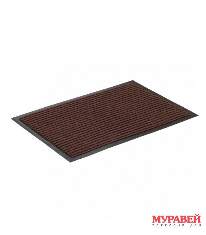 Коврик влаговпитывающий, ребристый 80 х120 см коричневый