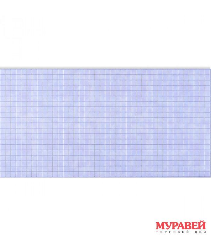 Панель ПВХ 0,4 мозайка «Сияние серебро»