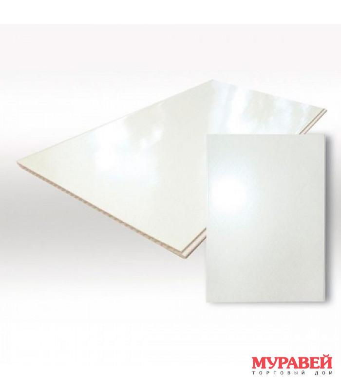 Панель ПВХ глянец белый 250х3000 мм