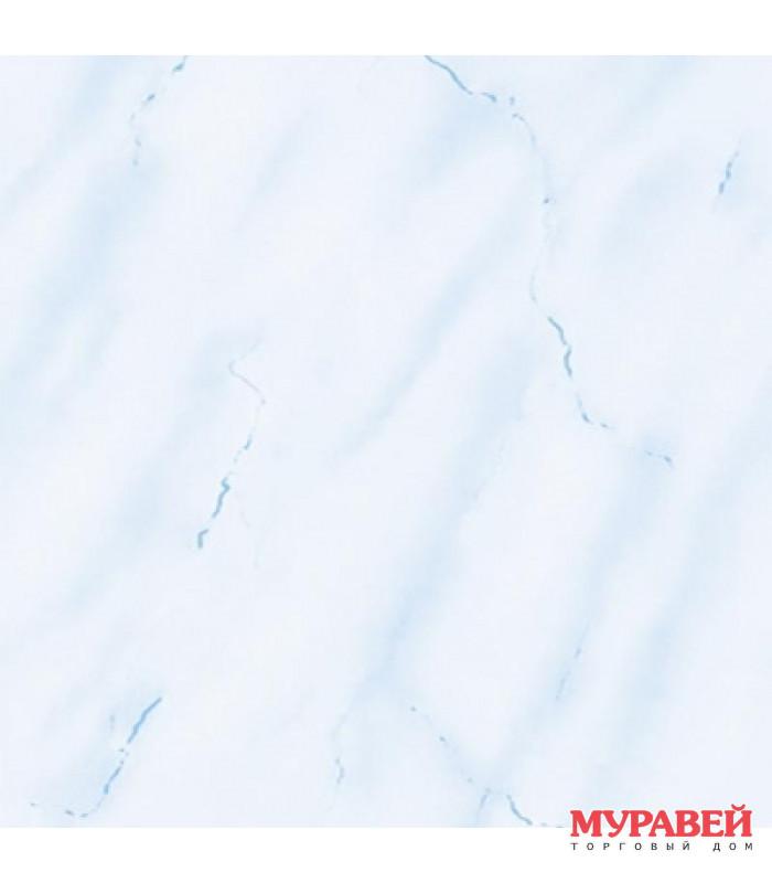 Панель ПВХ «голубой мрамор» 250х3000 мм