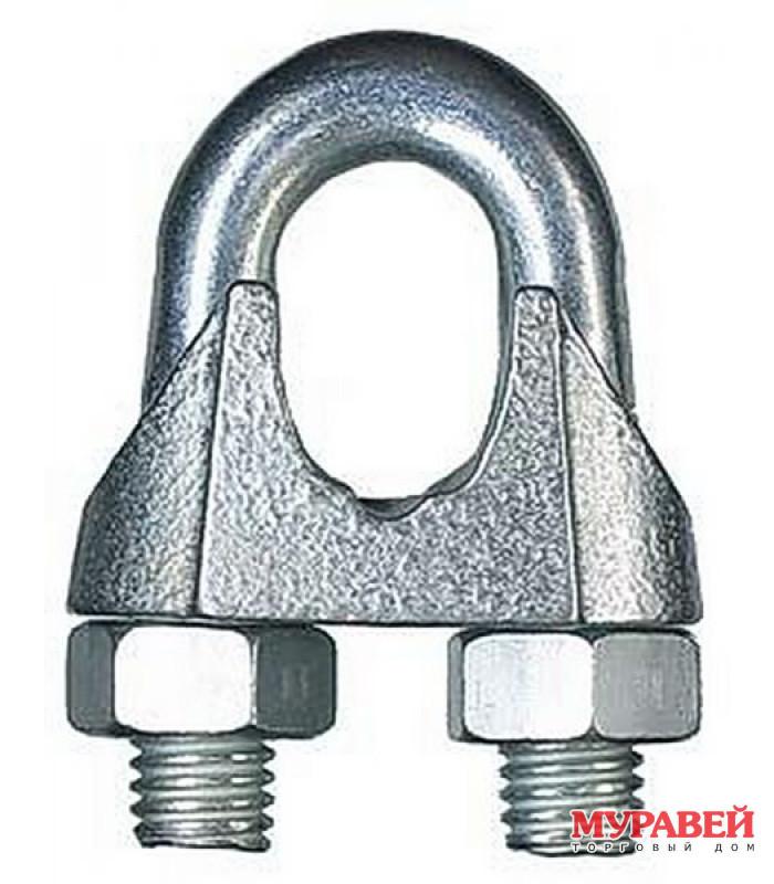 Зажим для стальных канатов DIN741 3 мм