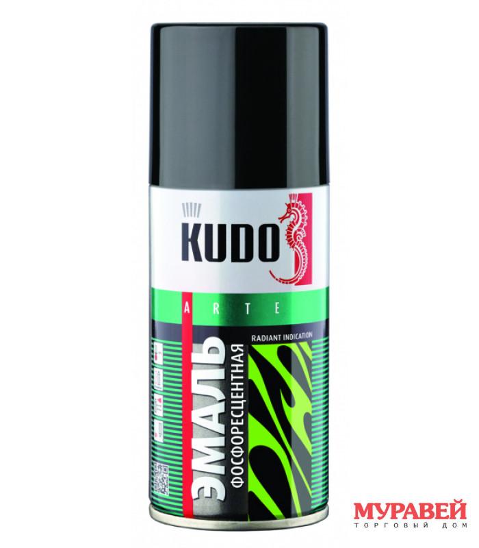 Эмаль фосфоресцентная 1250.1 зелено-желтая KUDO