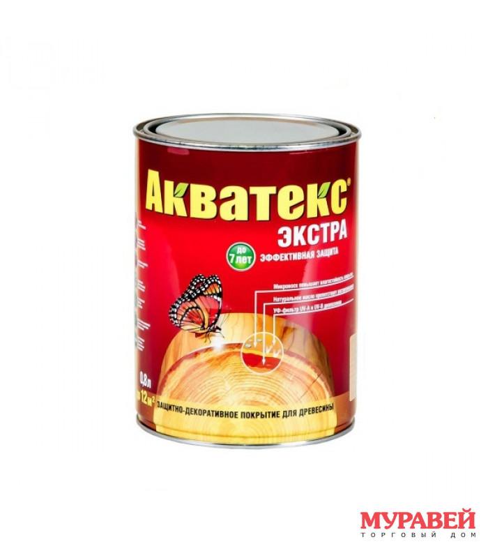 Акватекс-экстра красное дерево 0,8 л
