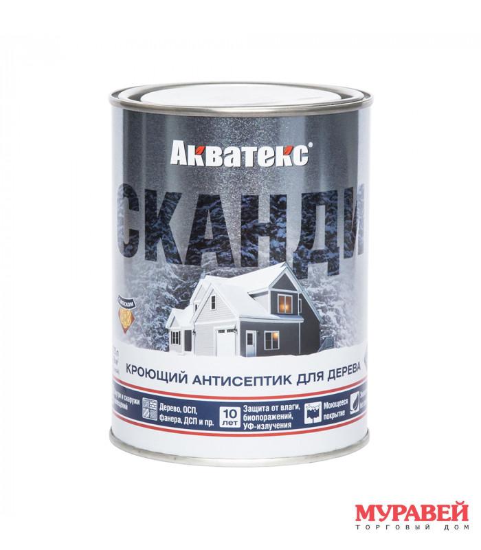 Пропитка для дерева Акватекс Сканди 0,75 л Фьорд