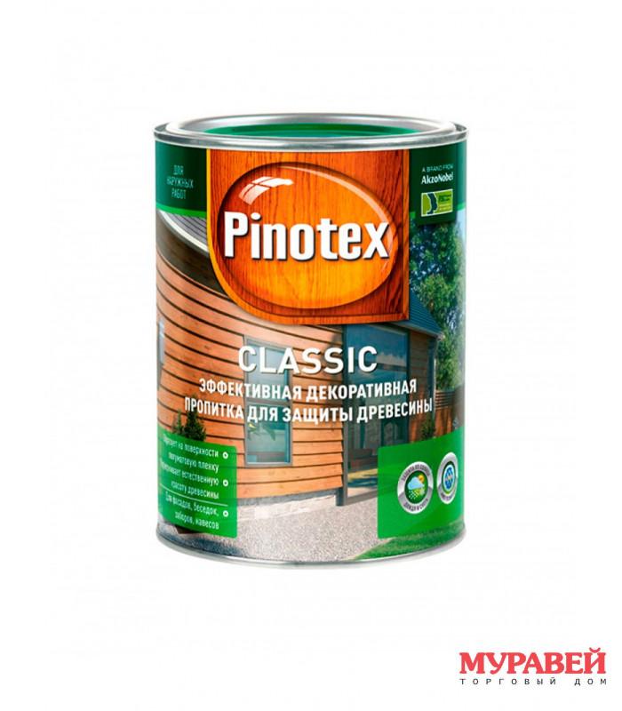 Пропитка PINOTEX Classic 1 л махагон