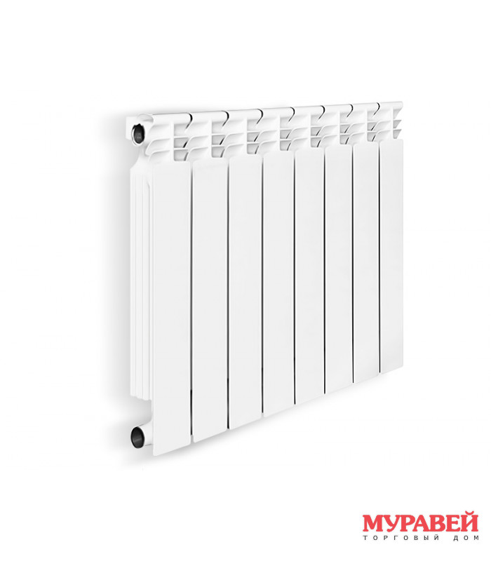 Радиатор биметаллический Оазис GMB / 500 / 80 / 6