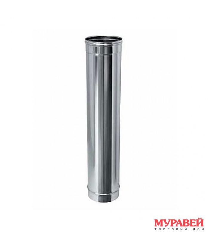 Дымоход (нерж. сталь 0,5 мм) L=1 м, d-130