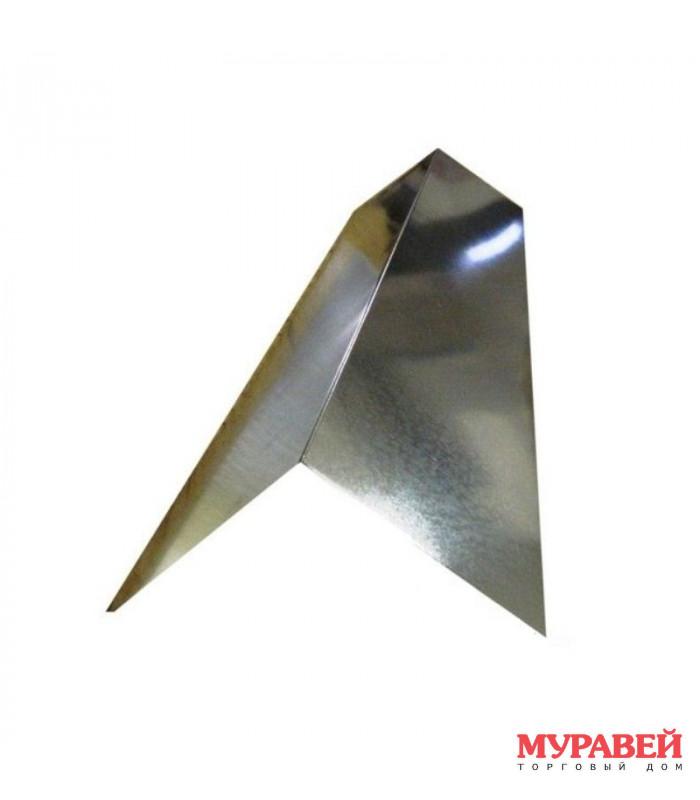 Конек 2×20 см оцинкованный 2 м