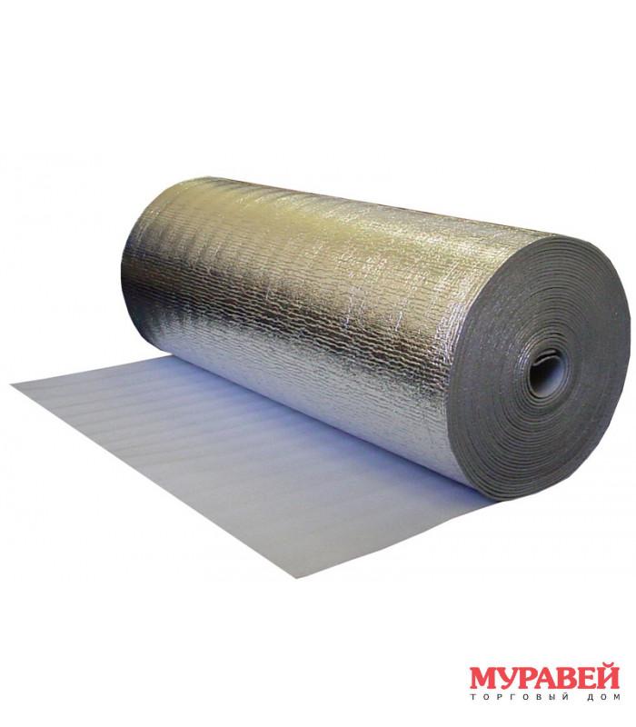 Вспененный полиэтилен (лавсан) 10 мм, 120×15 м (18 кв.м)