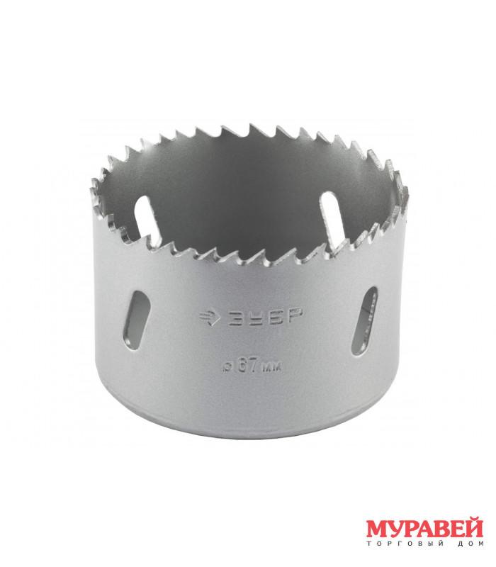 Коронка ЗУБР d-35 мм биметаллическая