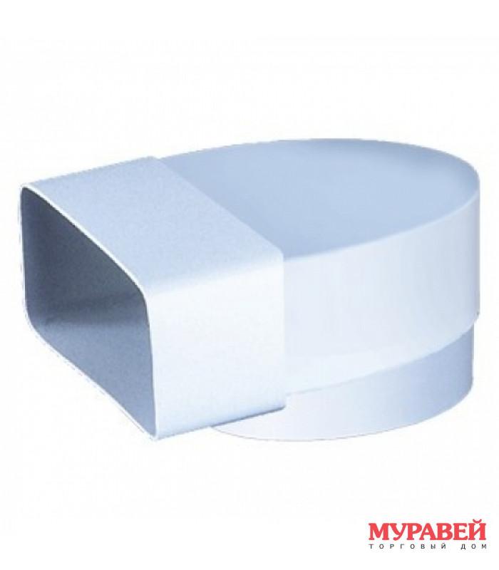 Соединитель плоский-круглый d-125 мм / 60 мм х 204 мм