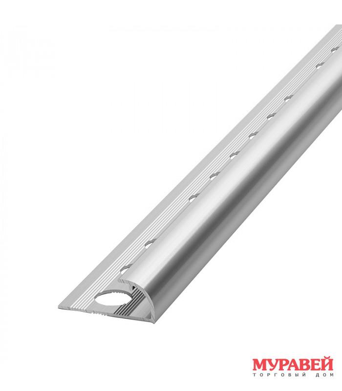 Уголок для кафеля алюминиевый РП-АПК-09 2,5 м